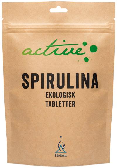 Holistic Spirulina Tabletter Spirulina (ekologiczna Spirulina w tabletkach)