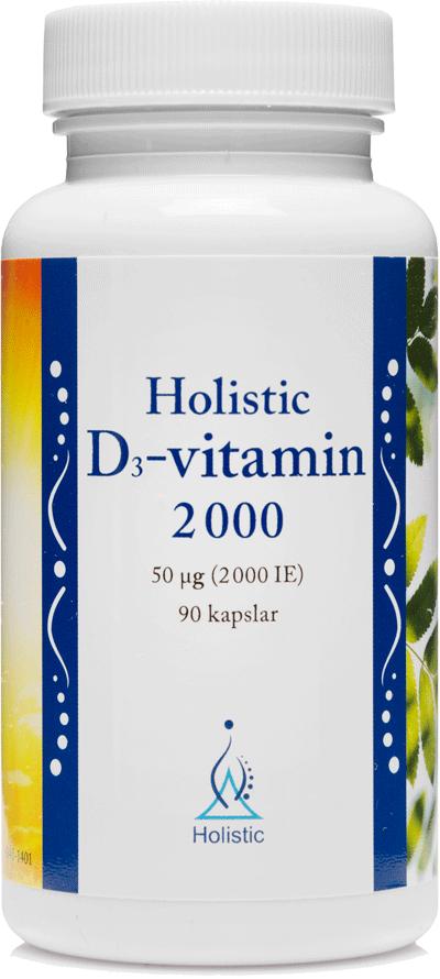 Holistic D-vitamin 2000 (Witamina D3 2000)