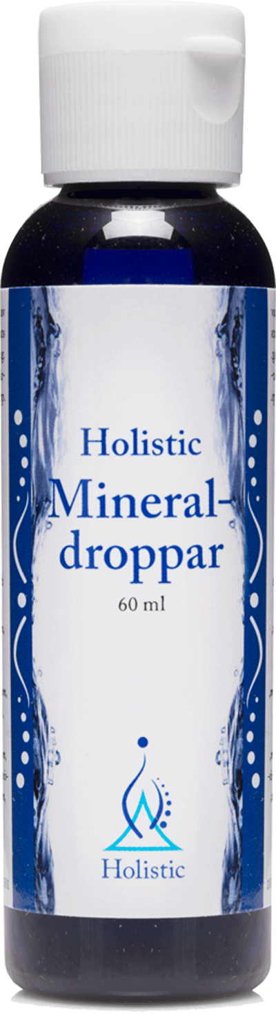 Holistic Mineral-droppar (Składniki mineralne w kroplach)