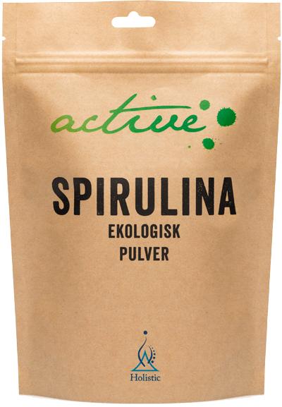 Holistic Spirulinapulver (spirulina w proszku)