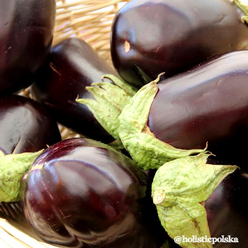 Dobrodziejstwa warzyw i owoców-bakłażany