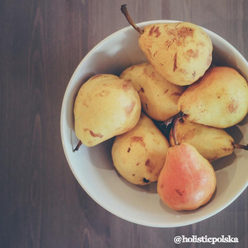 Dobrodziejstwo warzyw i owoców-gruszki
