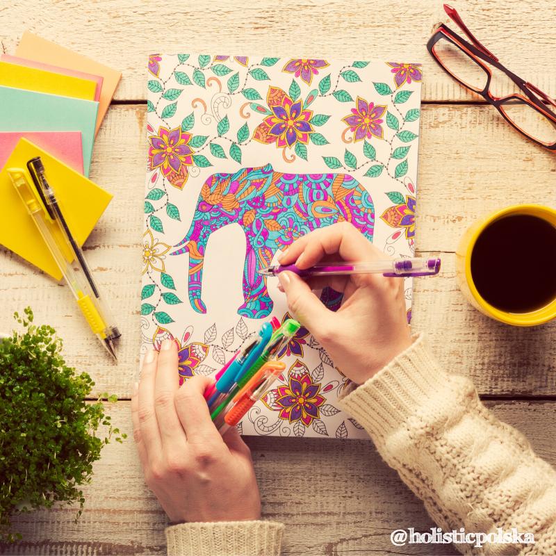 Kolorowanki nie tylko dla dzieci. Chwila przyjemności, która pomaga wyłączyć stres i pobudzić kreatywność