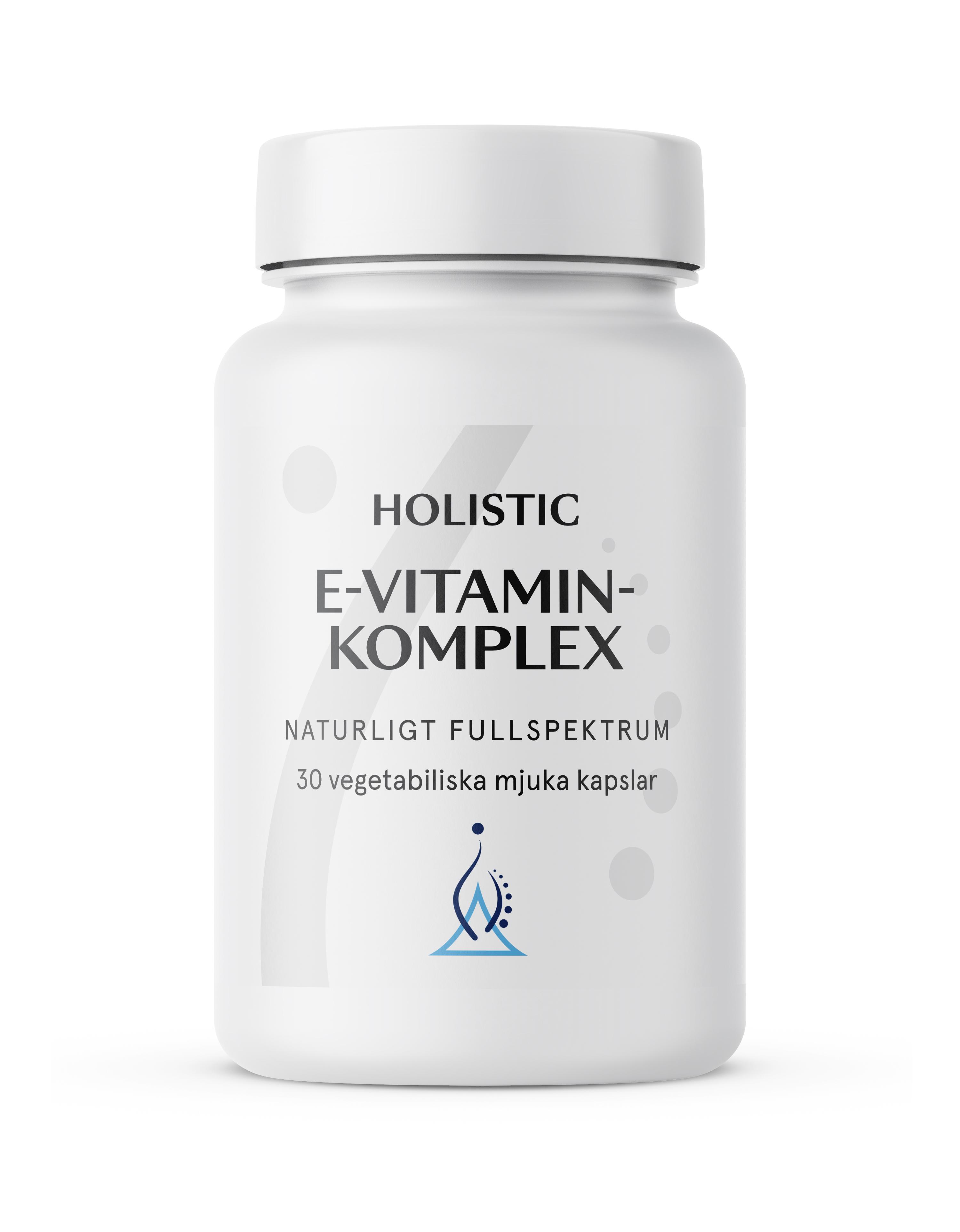 Holistic E-vitamin komplex (witamina E)