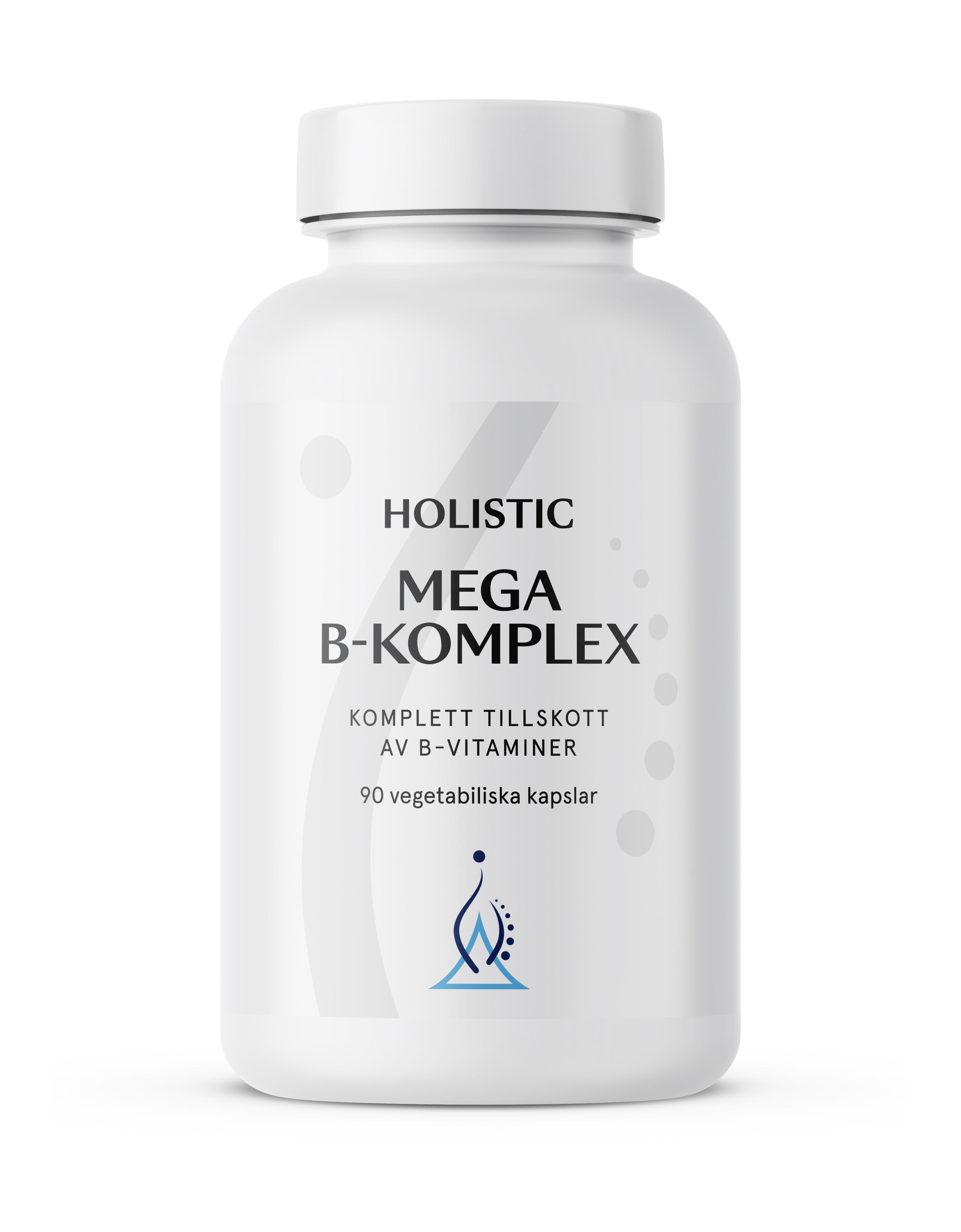 Holistic Mega B Metylerad (metylowane witaminy z grupy B)